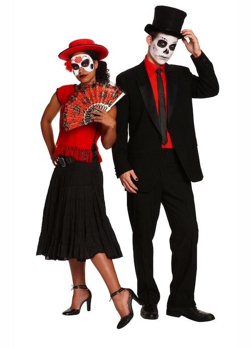 Diy Day Of The Dead Couples Costumes Nemetasaufgegabeltinfo