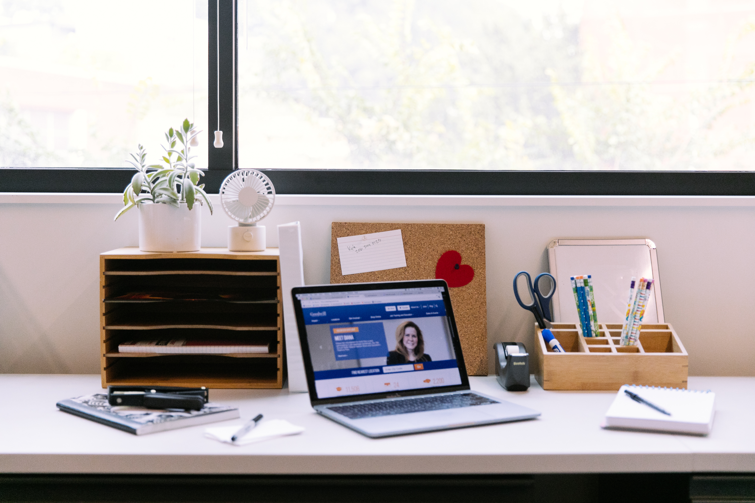 Save Money And Organize Your Work Space By Getting Some Desk Organizing  Items At Seattle Goodwill!
