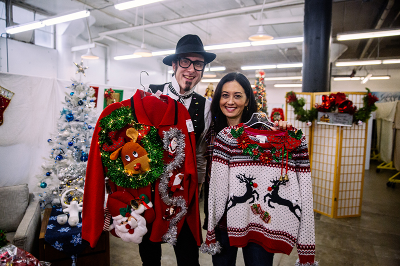 12 Days Of Holiday Blogs Diy Ugly Christmas Sweaters Blog