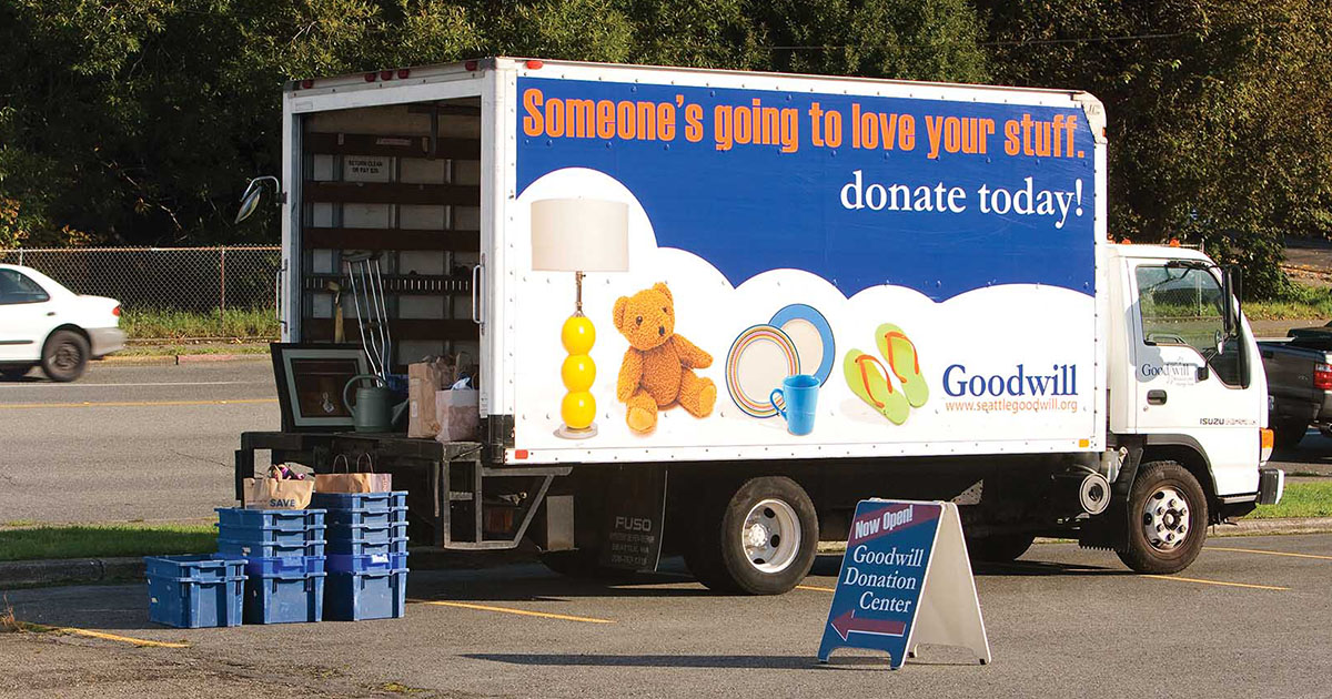 Tips to Maximize Your Goodwill Donation - Blog - Seattle ... Goodwill Donations